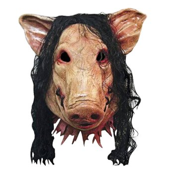 Pig Scary Latex Mask Halloween Party Creepy Cosplay Carnival Masquerade Costume