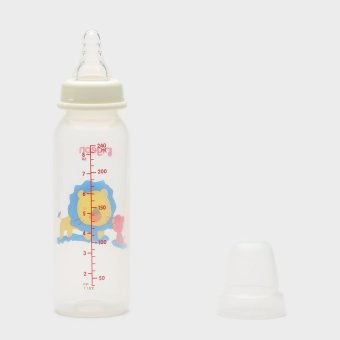 Pigeon Lion Baby Feeding Bottle 8 oz