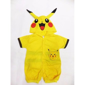Pikachu Baby Costume Romper (0-6 Months)