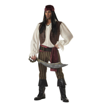 Pirates of the Caribbean pirate Halloween men pirate costumes clothing