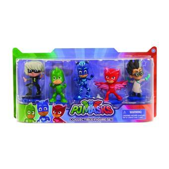 PJ Masks Collectible Figures Set 5 pack