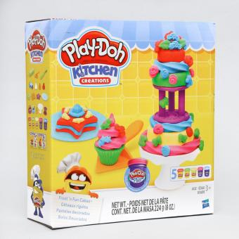 Play-Doh Kitchen Creations Frost In Fun Cakes - 2