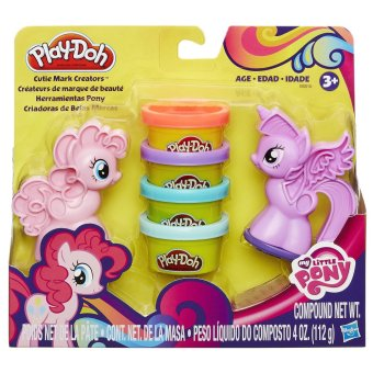 Play-Doh My Little Pony Cutie Mark Creators B0010