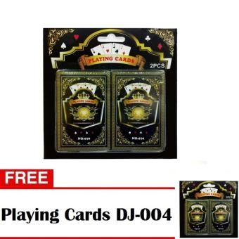 Playing Cards DJ-004 Set of 2 with Free Playing Cards DJ-004 Set of 2 Price Philippines