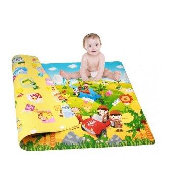 Playmat DWPM-CT01 LG Bumper for Babies and Kids Cowtown Medium