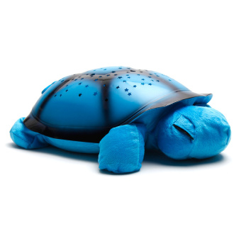 Plush Twilight Turtle Night Light (Blue)