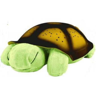Plush Twilight Turtle Night Light (Green)