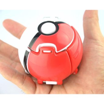 Pokemon Pokeball Cosplay Pop-up Elf Go Fighting Poke Ball WithPikachu Toy Red - intl