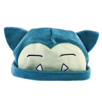 Pokemon Snorlax Soft Plush Cap Warm Hat Beanie Caps Cosplay Gift for Kids - intl