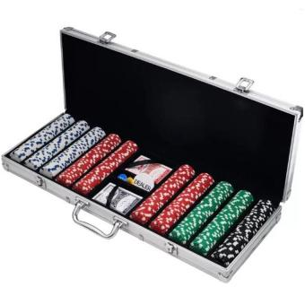 Poker Chip Set 500's Aluminum Case