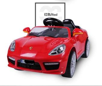 Porsche Car Cayenne Sports Edition 6v Ride On Car for Kids, Boysand Girls(Red)