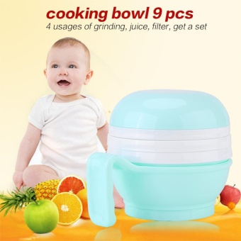 Portable Baby Food Maker Grinder Multi-functional Infant KidsHomemade Food Tool - intl Price Philippines