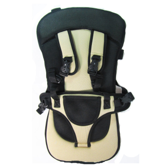 Portable Baby Safety Car Seat Harness (Black/Brown) - picture 2