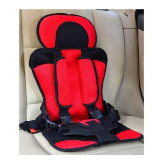 Portable Baby Safety Car Seat Harness (Red)