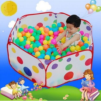 Portable Foldable Ocean Ball Pit Pool Holder Indoor Outdoor Kids Play Toy Tent