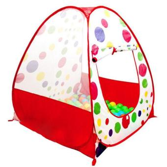 Portable Outdoor /Indoor Play House Hut Tent Play Balls Play Tentfor Kids Baby Pool Balls 90x90x95cm - intl Price Philippines