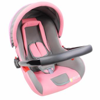 Portable Safety Baby Car Seat Basket Carrier BB-5D (Pink)