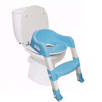 Potty Training Toilet Seat with Step Stool Ladder (Blue)
