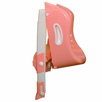 Potty Training Toilet Seat with Step Stool Ladder (Pink) - 3