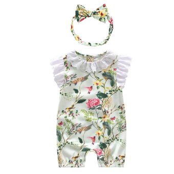 Princess thin clothes newborns romper onesie