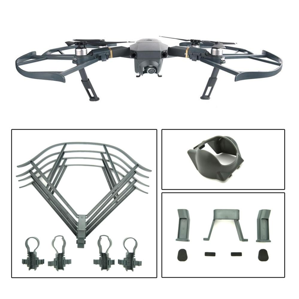 ... Protection Accessories Kit for DJI Mavic Pro, Including LandingGear Extender, Lens Hood Gimbal Guard ...