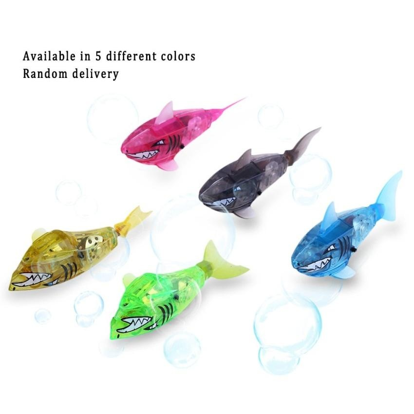 ... Activated Kids Robot Fish Toy Color Random Intl Daftar Update Source 4Pcs set Swimming Robot Fish