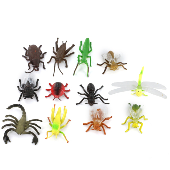 PVC Insect Model 12-piece Set