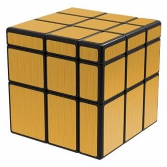 QiYi Mirror Gold 3x3x3 Speed Rubik's Cube