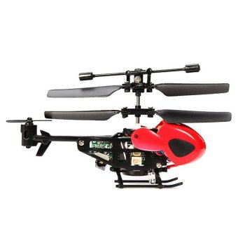 QS QS5013 Mini Remote Control Helicopter (Red)-Intl - 2