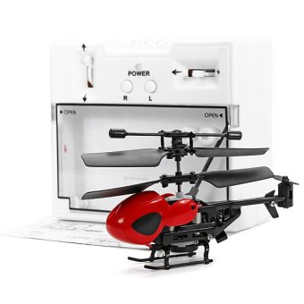 QS QS5013 Mini Remote Control Helicopter (Red)-Intl - 4