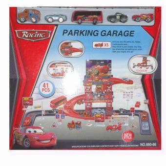 Racing Cars Parking Garage Toy Set #660-86 Price Philippines