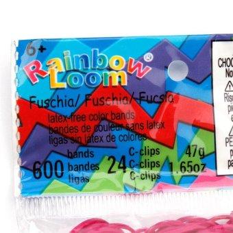 Rainbow Loom Bands Refill (Fuchsia) - 2