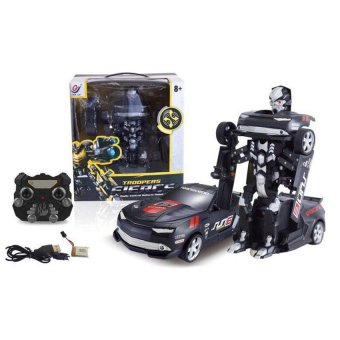 Remote Control Car Change to Transformers (Black)