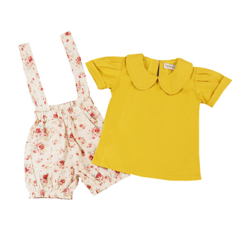 Retail 2017 Summer girls suits baby girls cotton clothing sets for2-5Y - intl Price Philippines