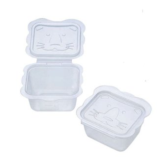 Richell for Babies Animal - Shaped Container 100 (8 pcs.)