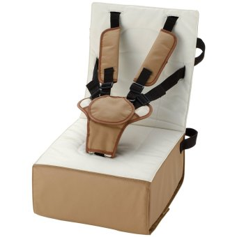 Richell for Babies Booster Cushion (Brown)
