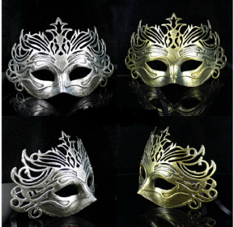 Roman style old-style Christmas party Men's mask