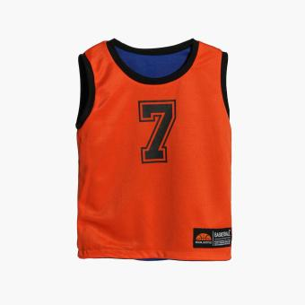 Rookie Boys New York Reversible Jersey Shorts Set (Blue) - 3