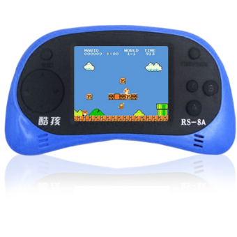"RS-8, 2.5"" LCD Plug and Play - Built-in 260 Games (Royal Blue)"