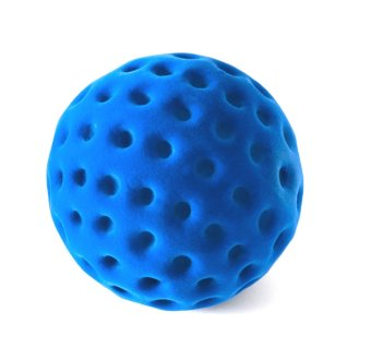 Rubbabu Dotty Ball (Blau)