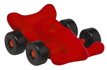 Rubbabu Little Modena the Racer (Red)