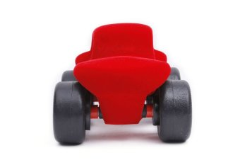 Rubbabu Monster Car (Red) - picture 2