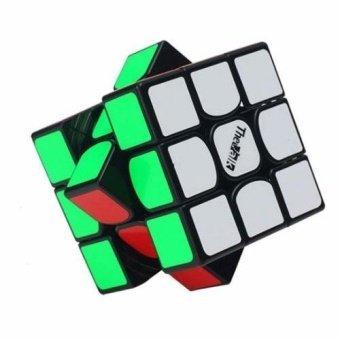 Rubik's Cube - QiYi 3x3x3 The Valk 3 PVC (Black) - intl - 2