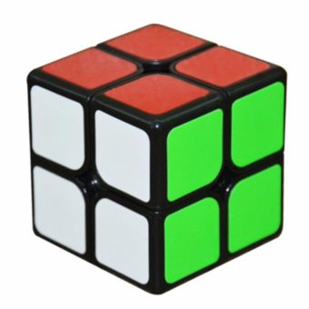 Rubik's Cube Yongjun Guanpo Brain Teasers Speed Magic Cube 2x2Puzzles YJ8317 Black Body