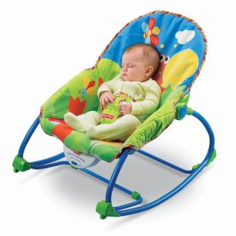 Rukia Fisher Price Dgk Infant To Toddler Rocker Blue With Free Adjule Sling Wrap Rider