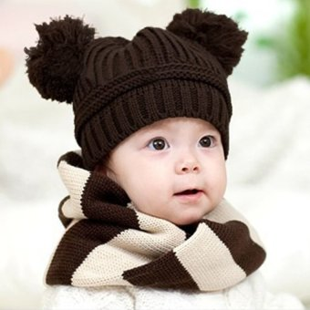 S and F Fashion Sweet Baby Kids Boys Girls Toddler Knitted Crochet - Intl - picture 2