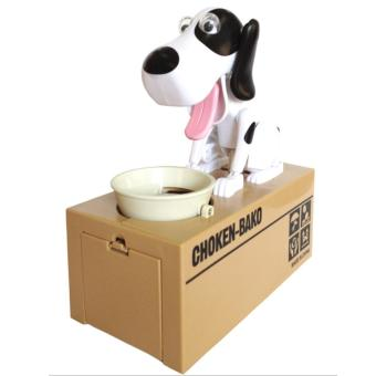 Safe Hucha Dog Money Box Money Bank Automatic Stole Coin Piggy Bank Money Saving Box Moneybox Gifts for kid - intl