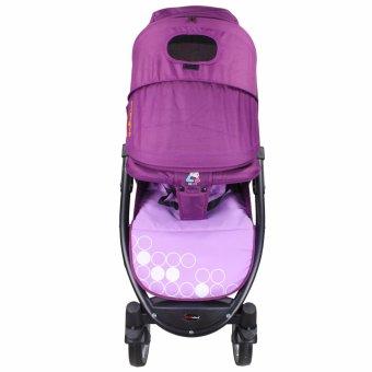Sanebebe SL-460 Baby Umbrella Style Stroller (Violet) - 2