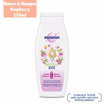 Sanosan 2-in-1 Shower & Shampoo Raspberry 250ml