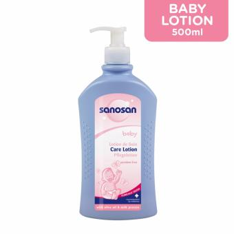 Sanosan Baby Care Lotion With Dispenser 500 ml